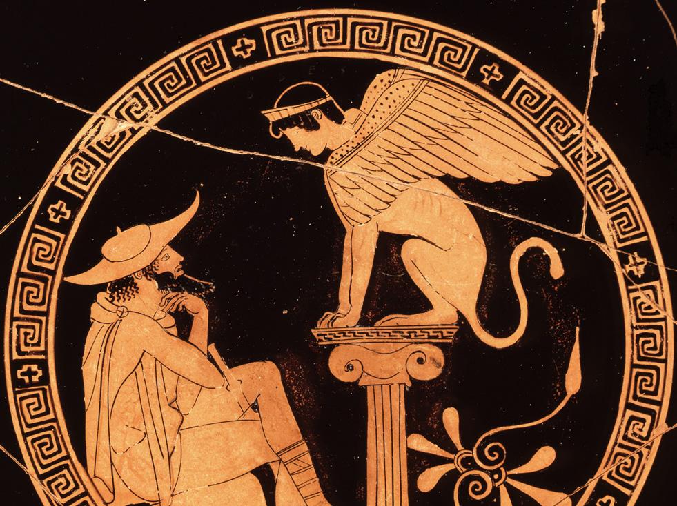 Kylix Attique Du Peintre D œdipe